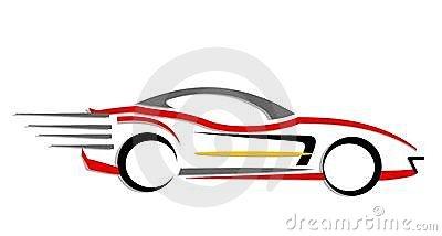 400x214 Car Clipart Fast Car