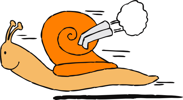 600x329 Speedy Snail Clip Art