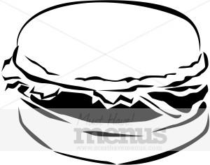 300x236 Burger Clip Art Fast Food Clipart