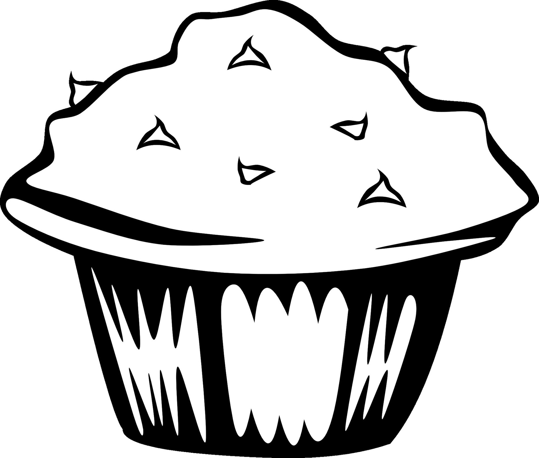 1871x1590 Food Clipart Images Black And White