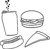 170x167 Clip Art Of Chinese Fast Food K15325216