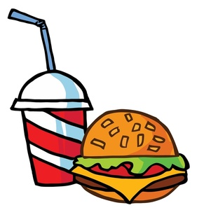 281x300 Fast Food Clipart Image