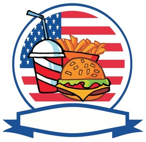 300x292 Fast Food Clipart Image