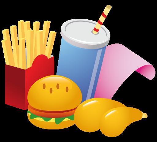512x464 Free Fast Food Clip Art