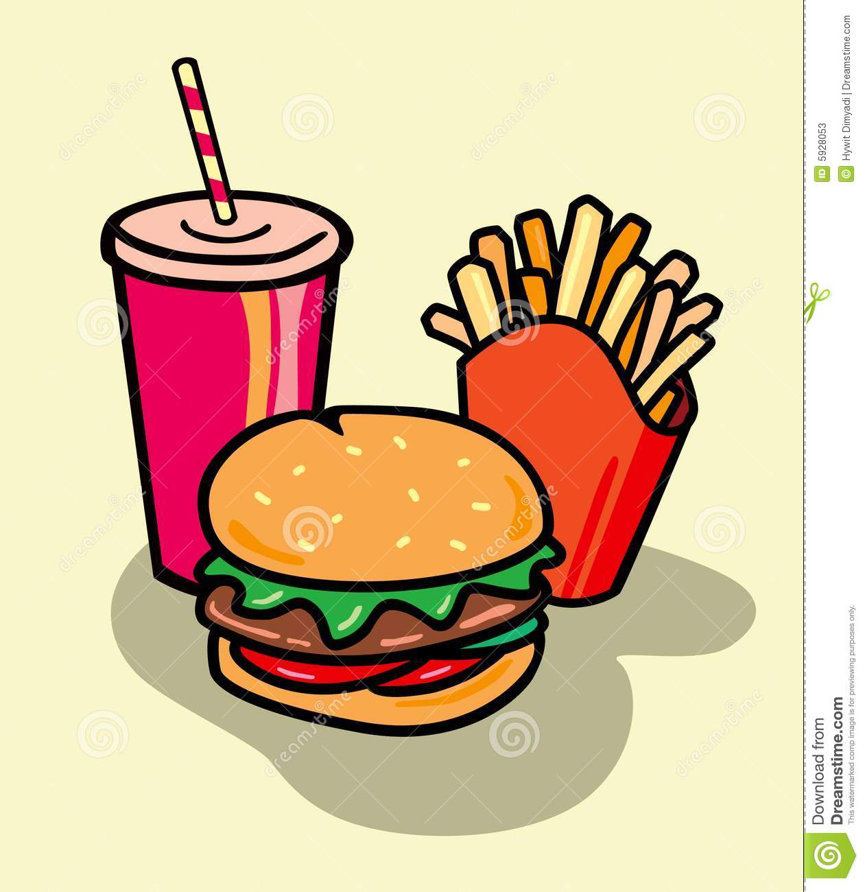 1261x1300 Meal Clipart Unhealthy Food