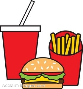 279x300 Food Clipart Fast Food
