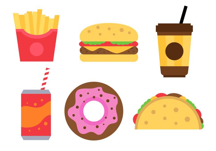 700x490 Free Fast Food Vector