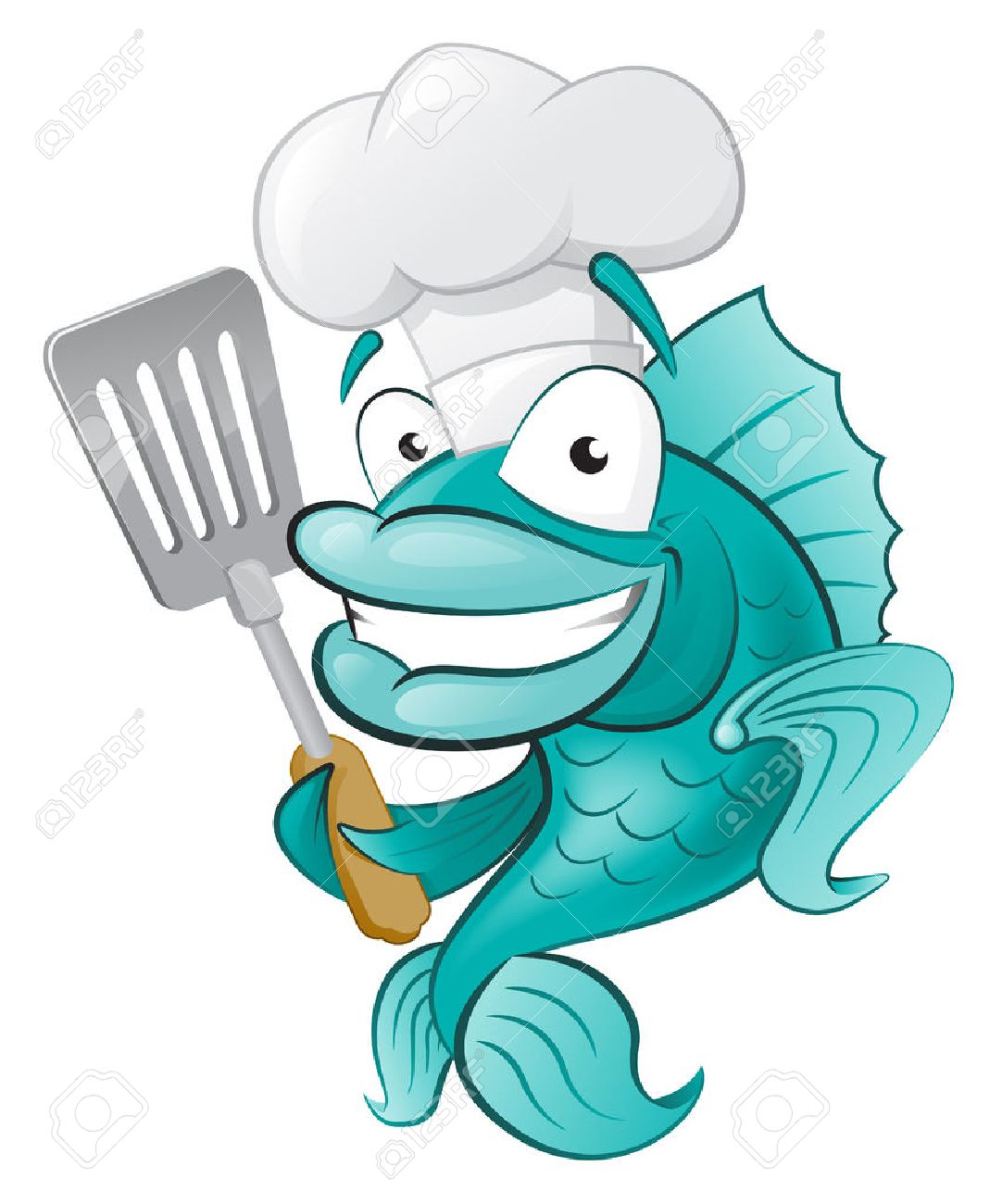 Fat Chef Clipart