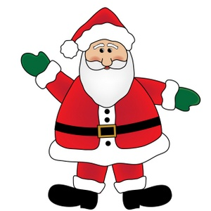 300x300 Santa Christmas Cliparts
