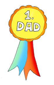 185x291 Top 86 Fathers Day Clip Art