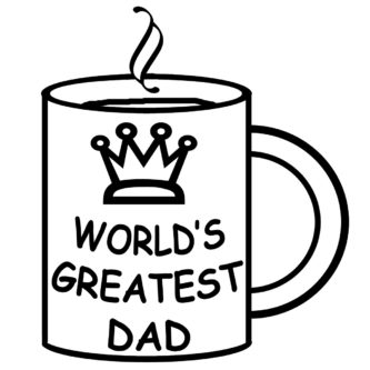 333x333 Happy Fathers Day Clipart Father'Day Clipartpen