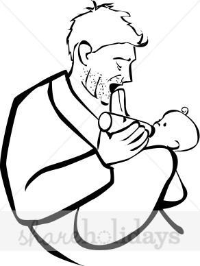 292x388 Kiss Clipart Father's Day