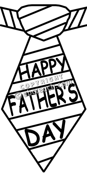 300x600 Black Clipart Day Father