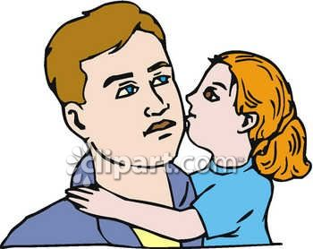 350x278 Kisses Clipart Father And Daughter