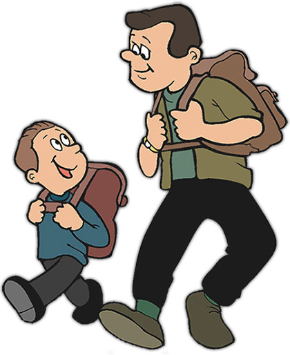 420x514 Father And Son Clipart Many Interesting Cliparts