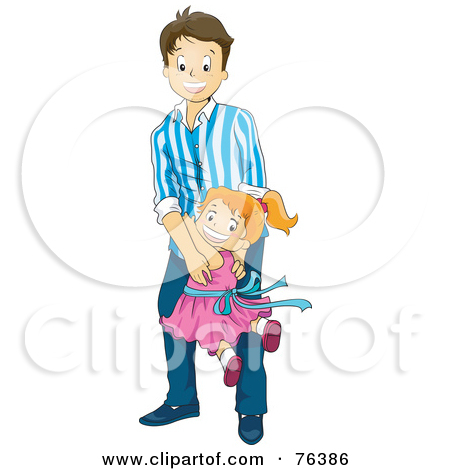 450x470 Little Girl Clipart Daddy
