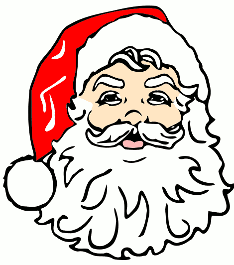 470x532 Father Christmas Beard Clipart (32+)