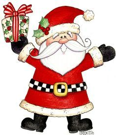 236x274 Father christmas clipart