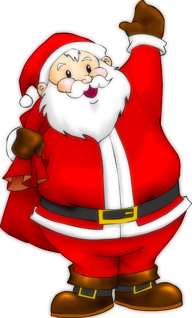 670x1109 Best 25+ Santa cartoon ideas Santa puns, Cute