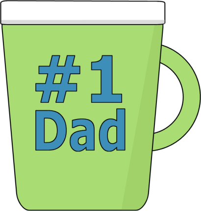 410x429 Fathers Day Father'Day Clip Art Images