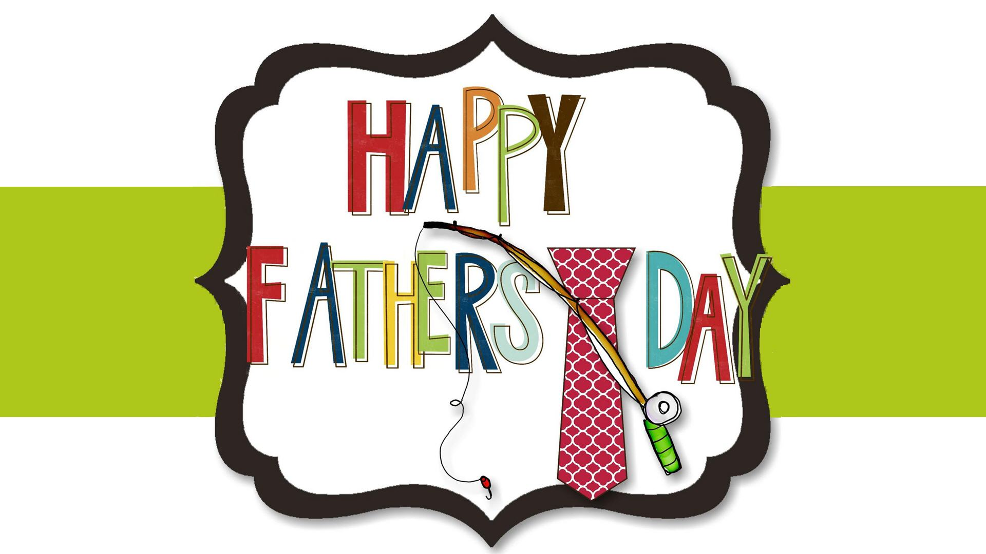 1920x1080 Fathers Day Clip Art