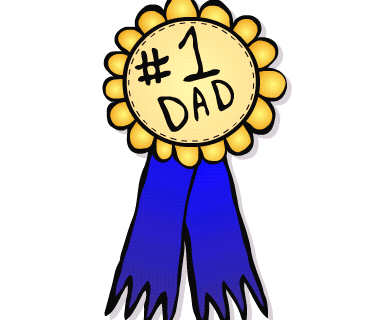390x320 Father S Day Clip Art Black And White Clipart Panda