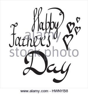 300x320 Fathers Day Composition. Black And White Photo. Office Desk Stock