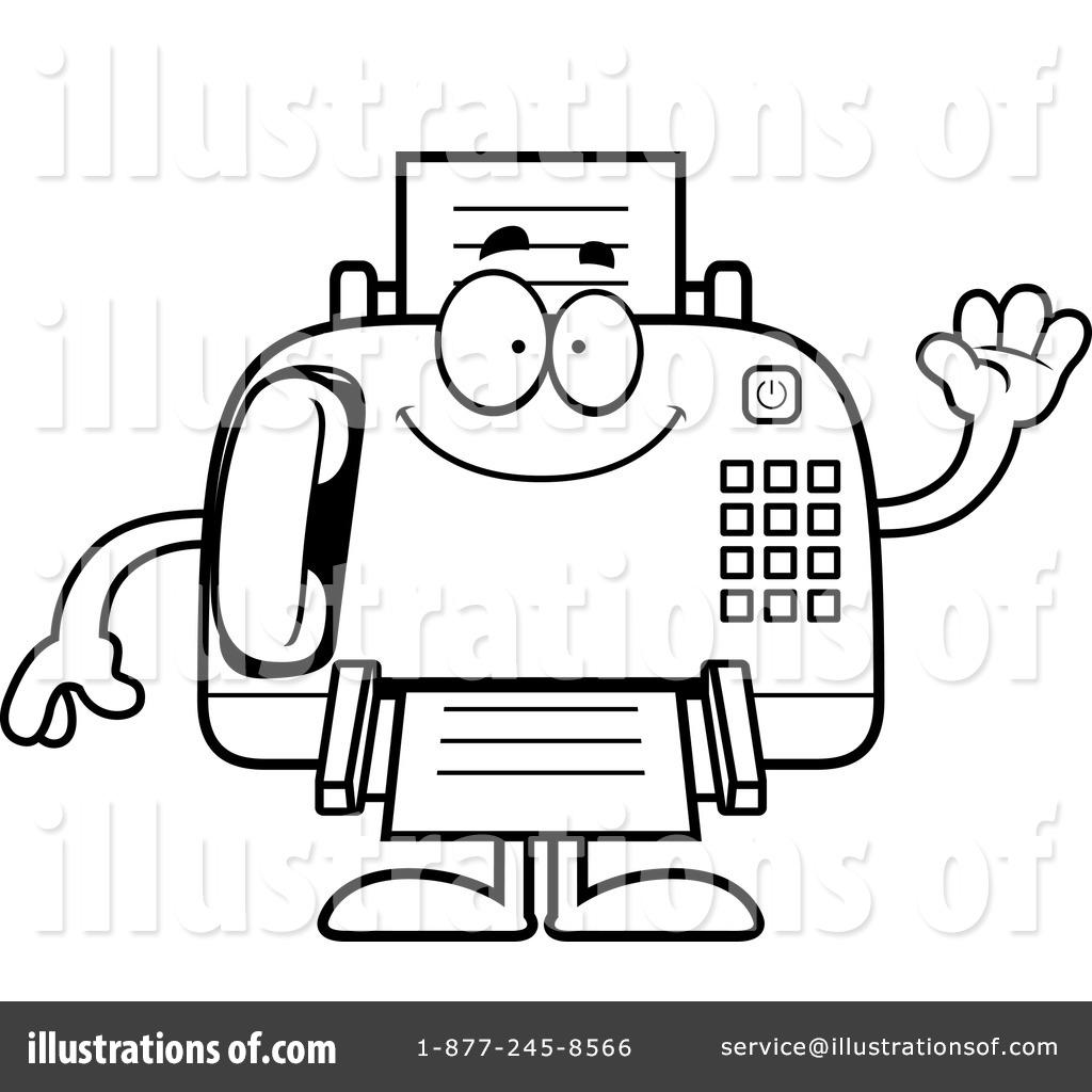 1024x1024 Fax Machine Clipart