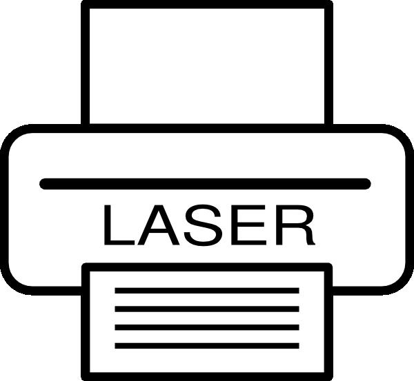 600x553 Laser Printer Clip Art