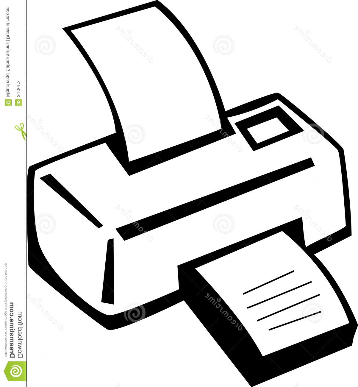 1203x1300 Hd Puter Printer Clipart Machine Vector Illustration File Free