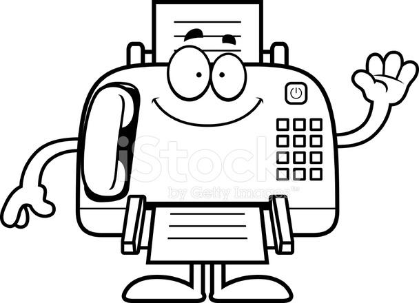 Fax Machine Clipart