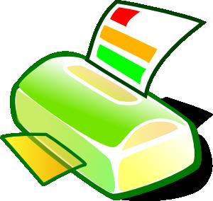 300x284 Printer Clip Art