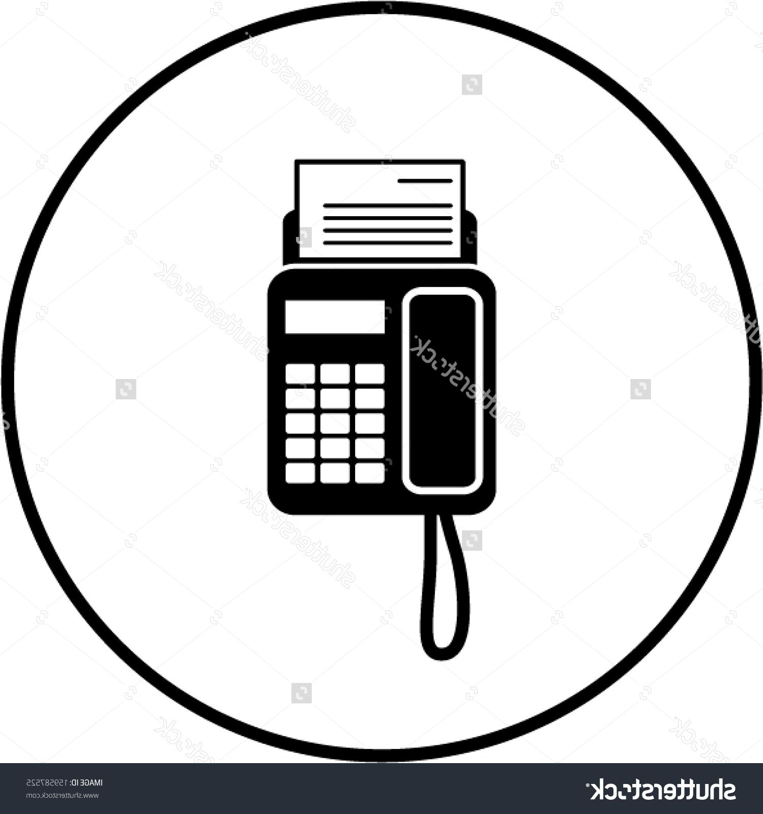 1500x1600 Top 10 Stock Vector Fax Machine Symbol Image