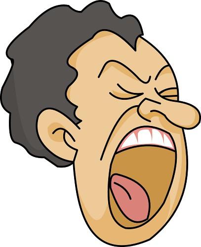 407x500 Clipart Facial Expressions