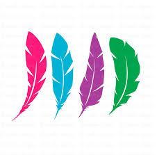 226x223 Beautiful Feathers Clip Art Clipart Set By Collectivecreation