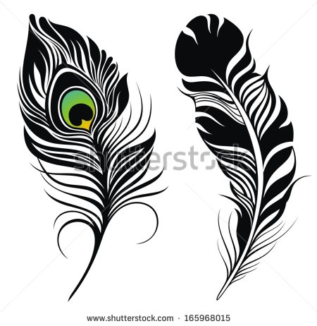 450x462 Peacock Feather Clip Art Many Interesting Cliparts