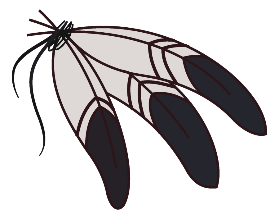 900x705 Indian Feather Clipart