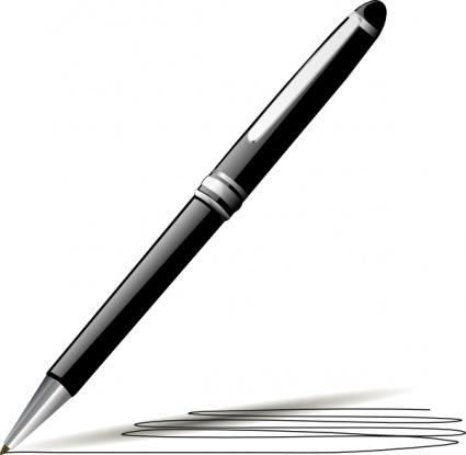 425x415 Pen Vector