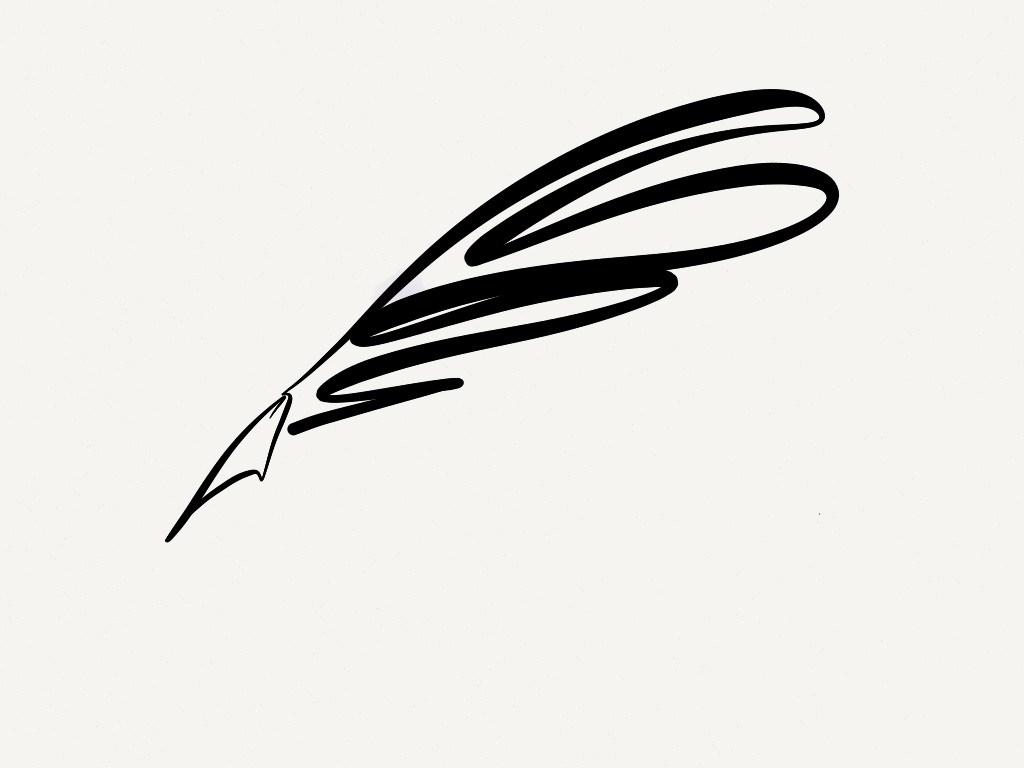 1024x768 Quill Pen Clipart