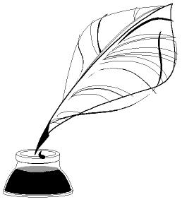 258x286 Quill clipart old pen