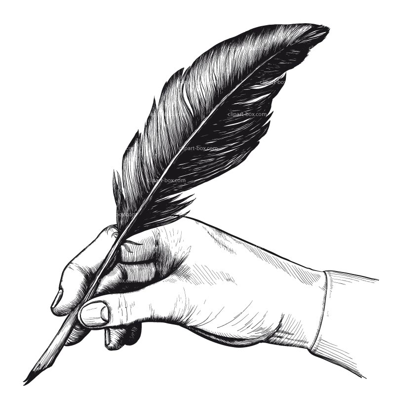 800x800 Calligraphy clipart feather pen