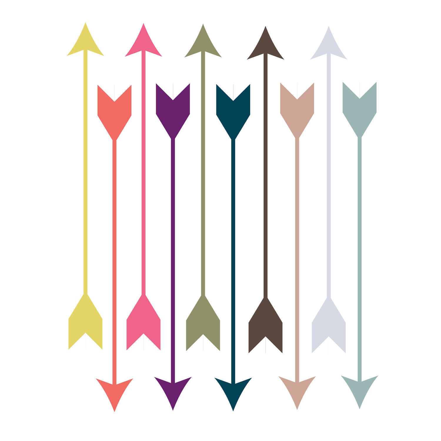 1500x1500 Arrows Feather Arrow Clipart Kid