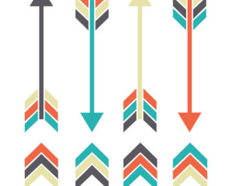 340x270 Modern Arrow Clipart Collection