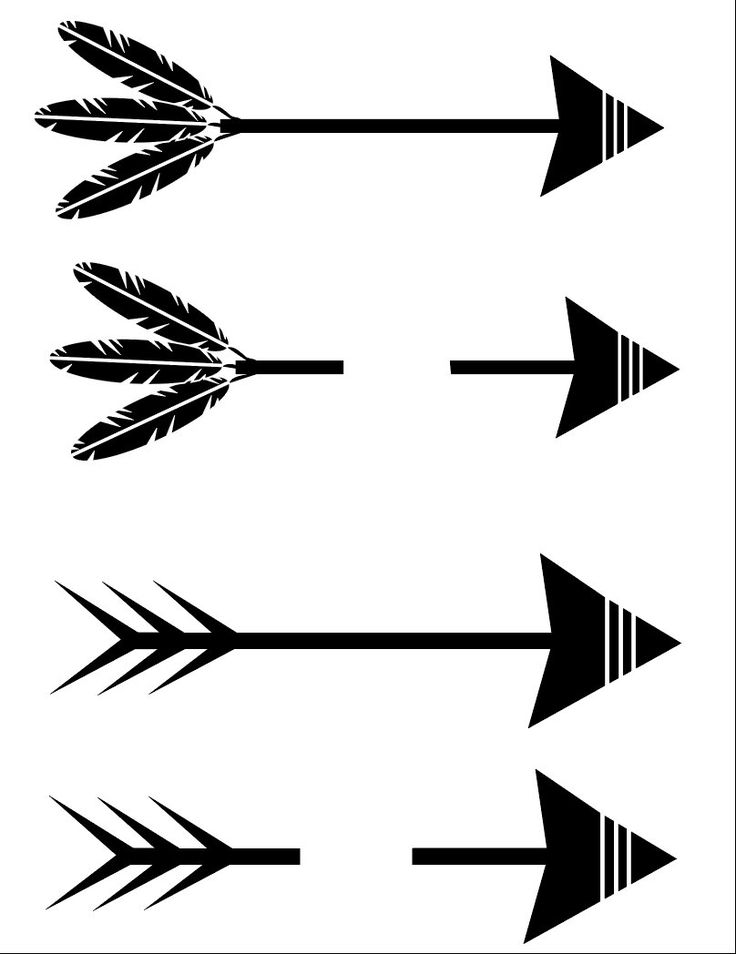 736x954 Arrow Svg Arrow Words Svg Arrow And Feathers Set Svg File Arrow