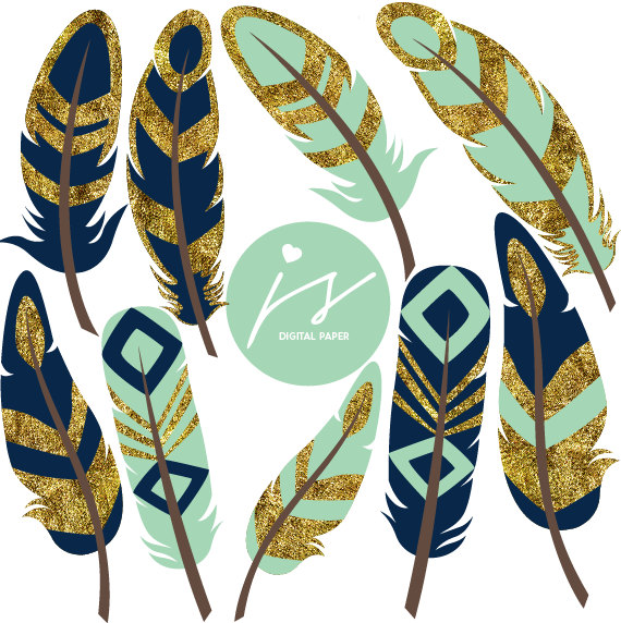570x572 Mint Feathers Feather Clipart Gold Clipart Glitter Clipart