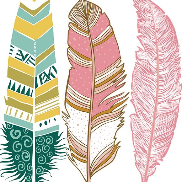 580x580 Cliparts Pink Feather Clipart Kid 2