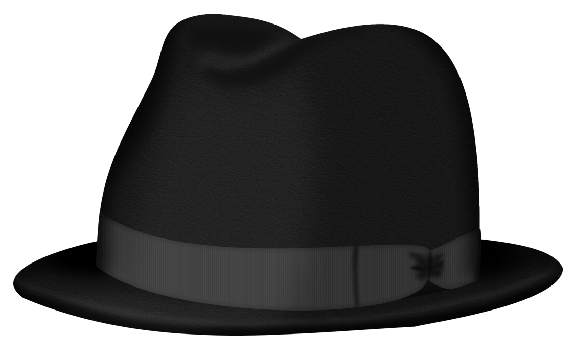 1125x701 Black Fedora Hat Png Clipart Pictureu200b Gallery Yopriceville