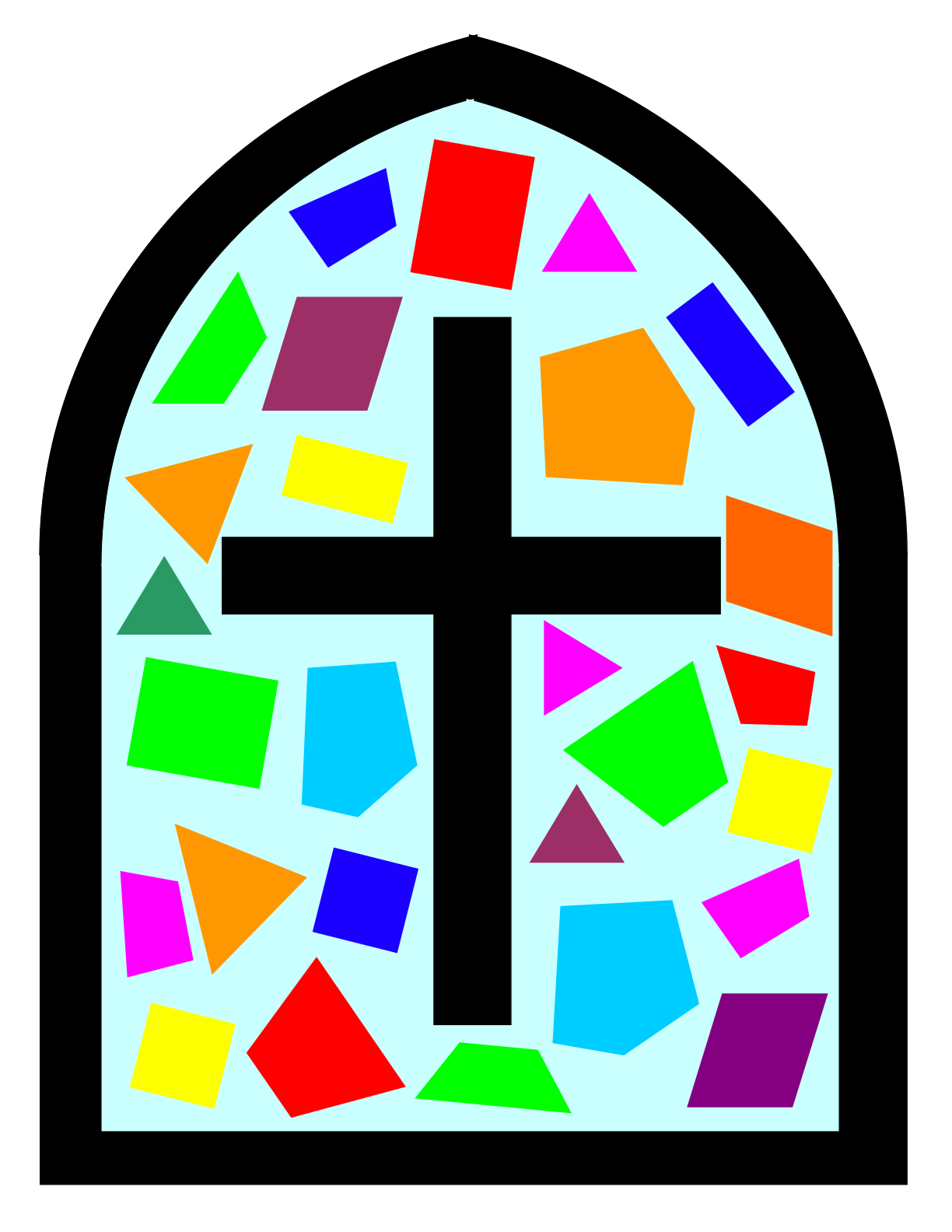 1224x1584 Stained Glass Clip Art Many Interesting Cliparts