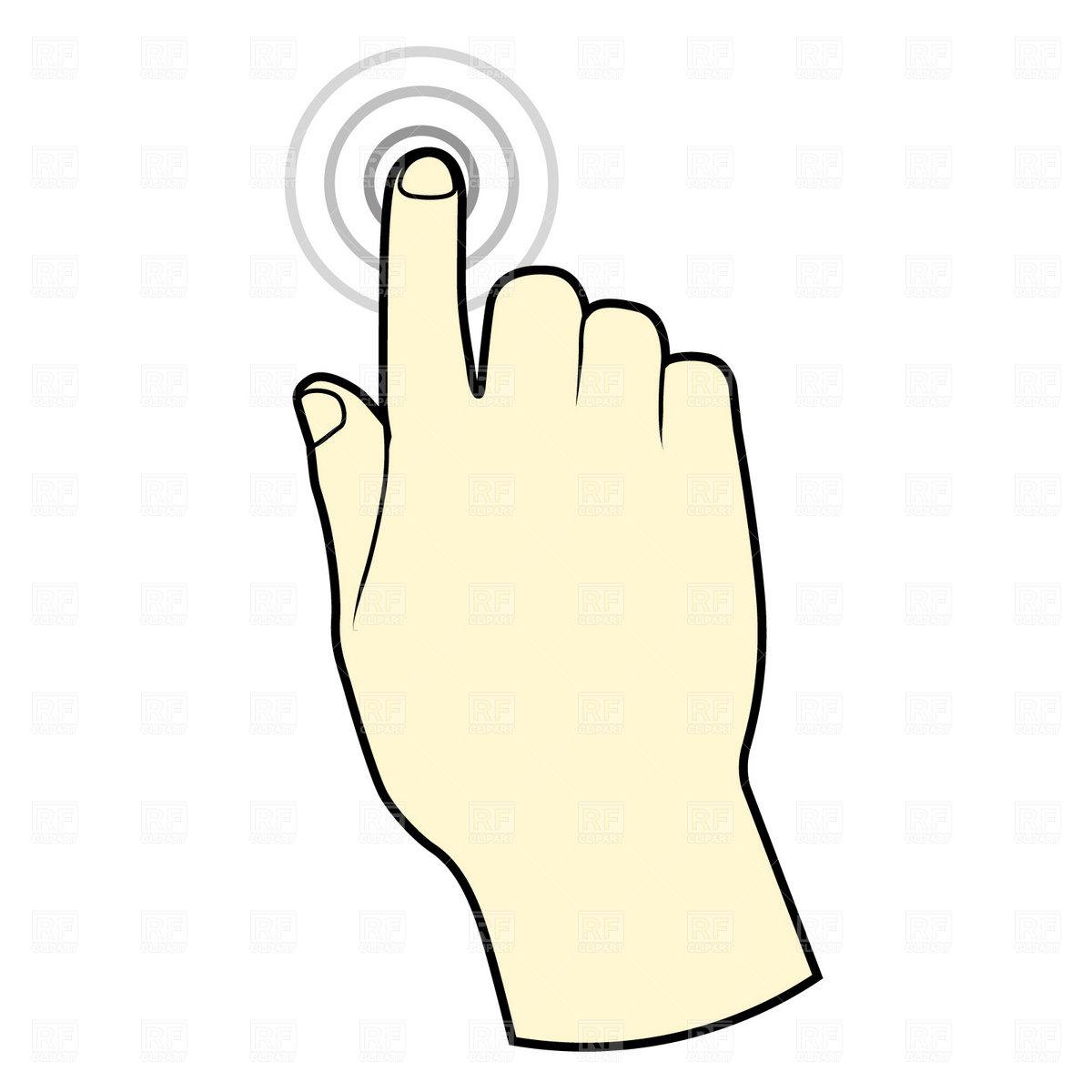 1200x1200 Clip Art Sense Of Touch Clipart