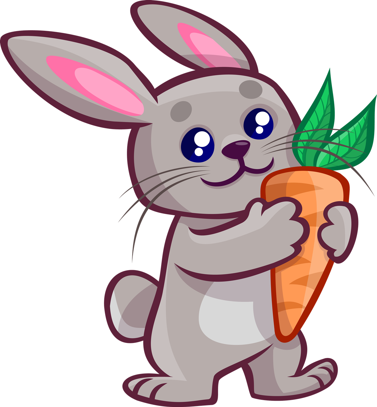1200x1296 Free To Use Amp Public Domain Bunny Clip Art